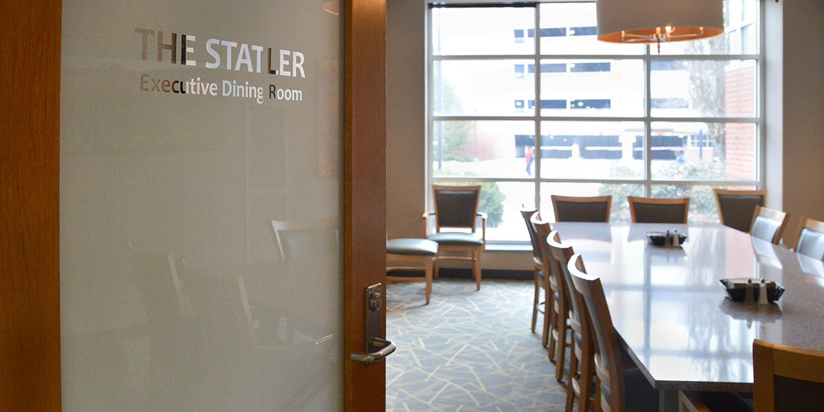 Statler Executive Dining Room