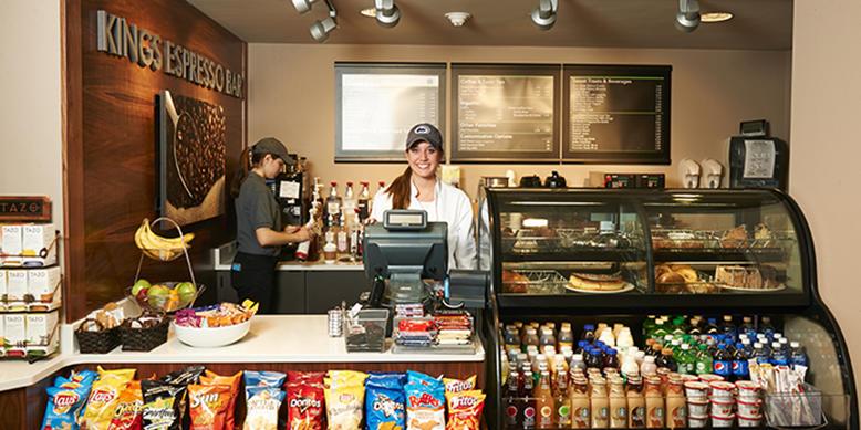 Kings Espresso Bar in Cafe Laura